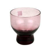 Glass Cold Sake Cup Clear Purple #GC-1-P
