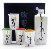 Sake Set Mixed Colour