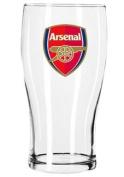 Arsenal FC Crest Pint Glass