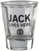 Jack Daniel's Licenced Barware Jack Lives Here Shot Glass