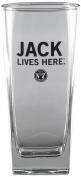 Jack Daniel's Licenced Barware Jack Lives Here Tall Rocks Glass