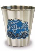 Hawaiian Stainless Steel Shot Glass Honu Swirl