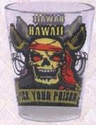Hawaiian Shot Glass Pick Your Poison