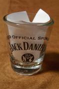 Jack Daniel's 2009 Iditarod Official Sponsor Promotional Shot Glass