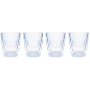 Tervis 350ml Clear Tumbler Set of Four