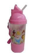 Disney Princess Rock N Sip N Snack Canteen Water Bottle
