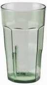 Cambro LT16-427 SAN Plastic Laguna Tumbler, 8.4cm by 14cm , Spanish Green