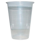 16 Oz. Clear party tumbler