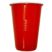 16 Oz. Red party tumbler