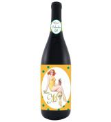Santa Barbara Design Studio Calendar Girl Wine Bottle Wrap, Miss May