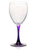 Purple Stem Wine Glass 300ml
