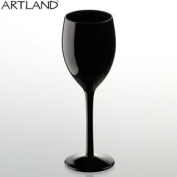 Midnight Black Wine Glass