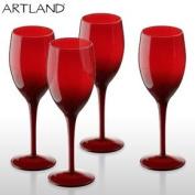 Midnight Wine Red Glasses