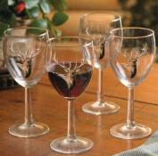 Elk 300ml White Wine Glasses by Rosemary Millette