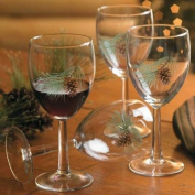 Pinecone 300ml White Wine Glasses by Persis Clayton Weirs