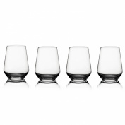 Style Setter Napa Stemless Wine Glasses, Set of 4