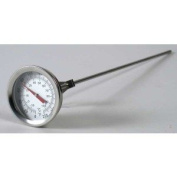 Brewcraft 30.5cm Ss Dial Thermometer Homebrew Brew Kettle Brew Pot