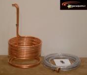 Super Efficient 1cm x 25' Copper Wort Chiller