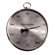 Sper Scientific 736930 Dial Barometer for Classroom, Lab, Industrial Use, 10.2cm Dial, +/- 3 to 4 hPa Accuracy