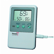 Thomas ABS Plastic Memory Monitoring Thermometer, 58 to 158 degree F