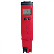 Hanna Instruments HI 98128W pH and Temperature Tester with Solutions for Wine