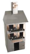 House Warming Wine Bottle Caddy or Holder from H & K Steel Sculptures - 6153-LI