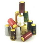 Burgundy PVC Shrink Capsules-30 Count