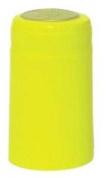 Yellow PVC Shrink Capsules-30 Per Bag