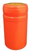Orange PVC Shrink Capsules-30 Per Bag