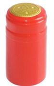 Red PVC Shrink Capsules-30 Per Bag