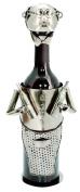 True Fabrications Metal Character Bottle Holder, Butler