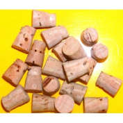 TAPERED CORK, PLUG, CORK, STOPPER, CORKS, STOPPERS, CLOSURES, CORK STOPPERS, 85, size # 0, TAPERED CORKS, for, BOTTLES, VIALS, JARS, B0TTLE, HOLES, VIALS, JUGS, ETC., Great for ANYTHING, STOPPER, is Approximately 0.7cm at the small end, 1cm at the larg ..