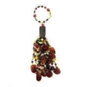 Burgundy Decorative Tassel/Napking Ring