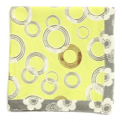 ASD Living for the Home Organic Circles Napkin, Yellow