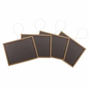 12 Mini Chalkboards 5.1cm X7.6cm -For Wedding Place Cards Party Favours, & Crafts