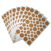 Light Duty Cork Protector Pads - 10 Sheets