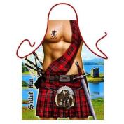 """""""Scottish Man"""" (Highlander) - Sexy Kitchen Apron - 100% Polyester"""