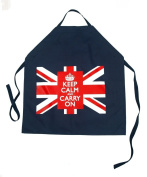 Keep Calm and Carry On Apron with Union Jack