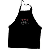 Bunco Apron with Crystal Dice