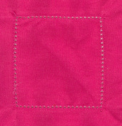 Hot Pink 6x6 Hemstitch Cocktail Napkins 1 Dozen