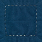 Navy 6x6 Hemstitch Cocktail Napkins 1 Dozen