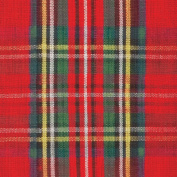 IHR Red Tartan Classic cheque luxury traditional english paper napkins 50cm pack