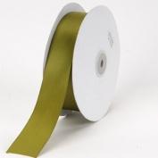 Spring Moss Satin Ribbon Single Face 1-1.3cm 50 Yards