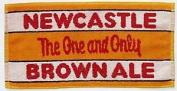 Newcastle Brown Ale Cotton Bar Towel