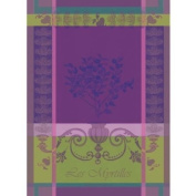 Garnier Thiebaut Kitchen Towel Myrtilles Violet