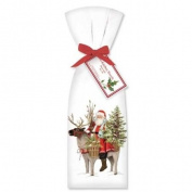 Santa Reindeer Towel Set