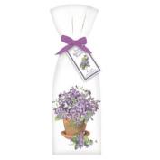 Violets Towel Set