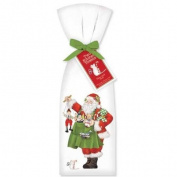 Santa with Toys Towel Set