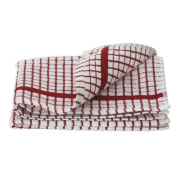 Lamont Poli-Dri Tea Towel/Dish Cloth, Red