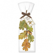 Oak Leaves Towel Set